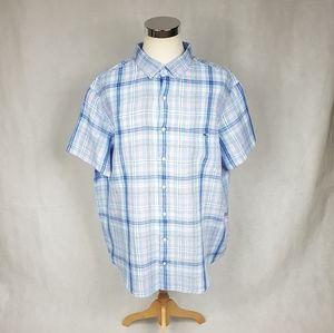Vineyard Vines 100% Linen Mens 2XB Tucker Shirt